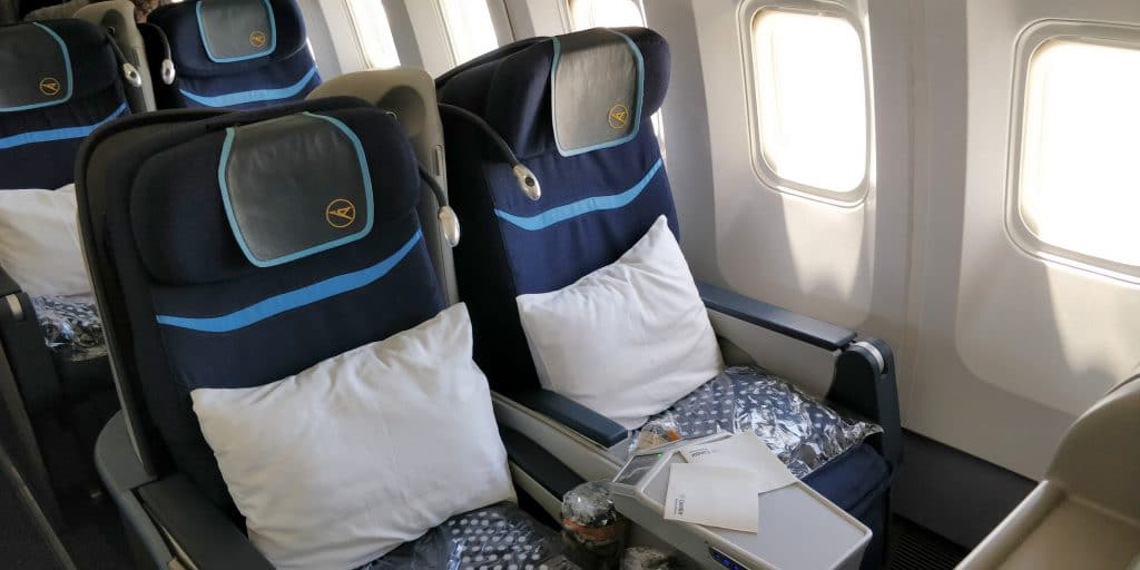 Condor Business Class Sitz