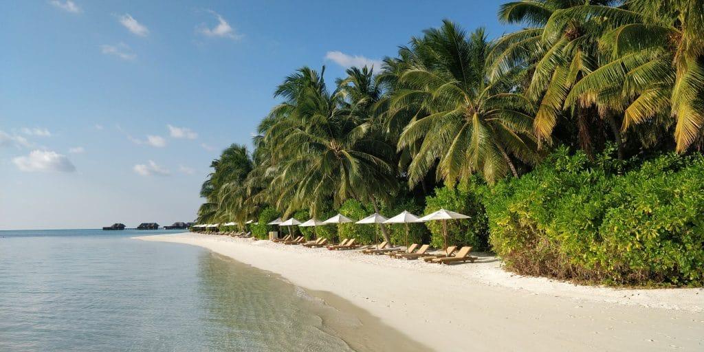 Conrad Maldives Rangali Island Hauptinsel Strand 4