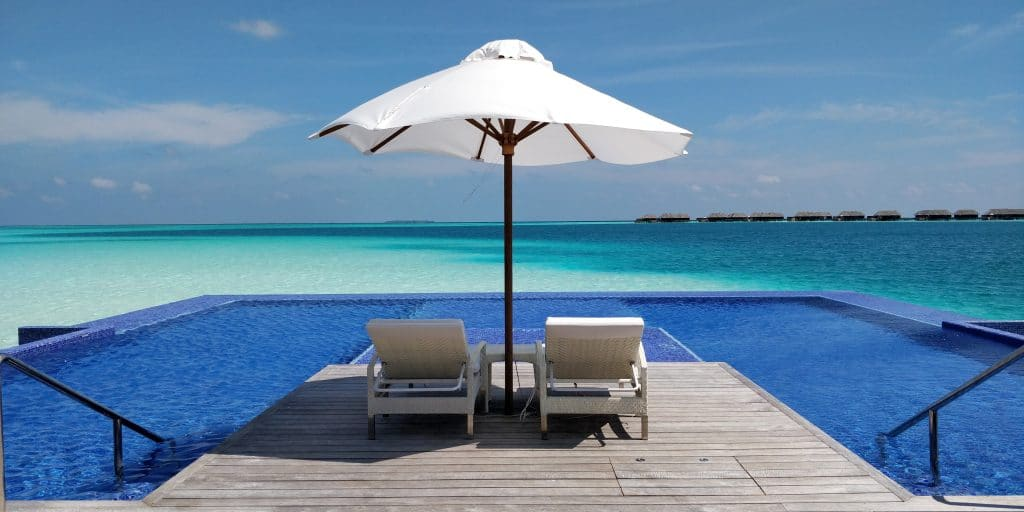 Conrad Maldives Rangali Island Pool Quite Zone 5