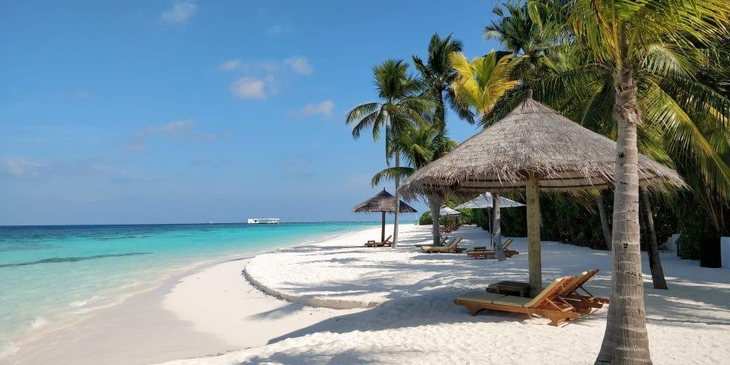 Conrad Maldives Rangali Island Strand Hauptinsel 3