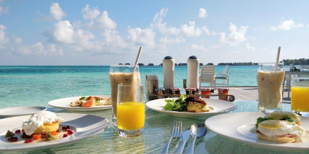 Conrad Maldives Rangali Island Vilu Frühstück 12