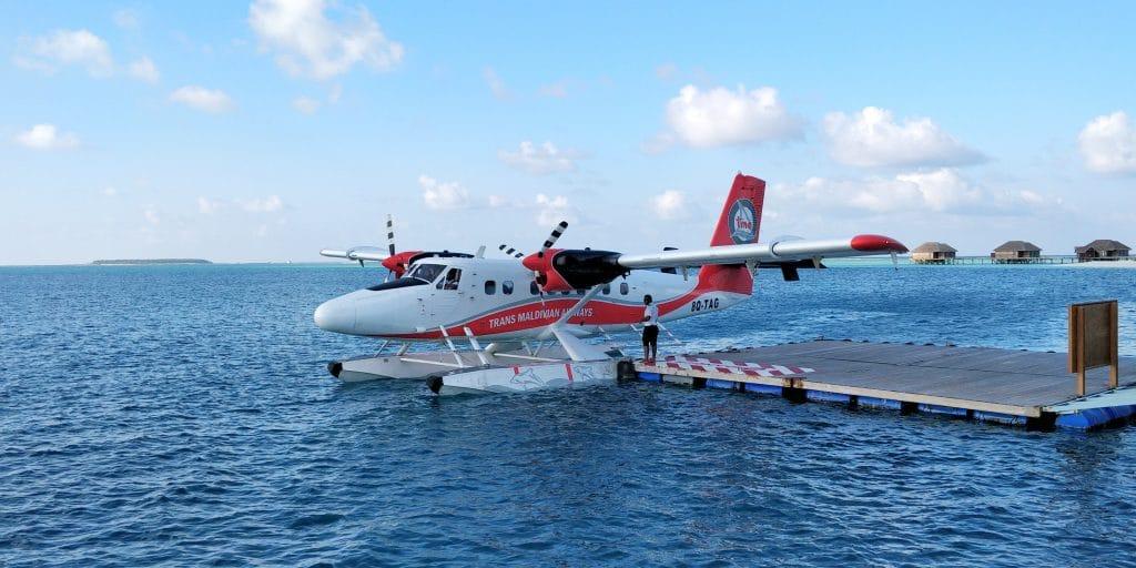 Conrad Maldives Rangali Island Wasserflugzeug