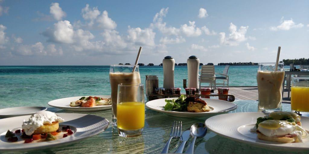 Conrad Malediven Frühstück