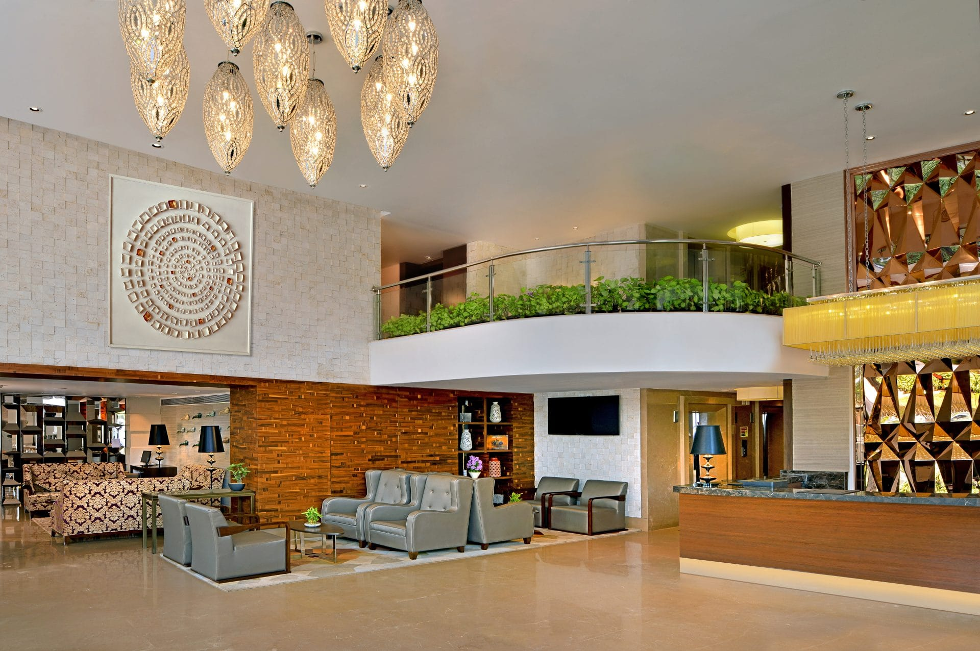 Country Inn Suites By Radisson Manipal Hotel Lobby