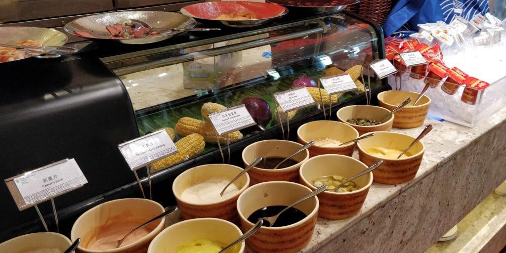 HUALUXE Kunming Frühstück 3