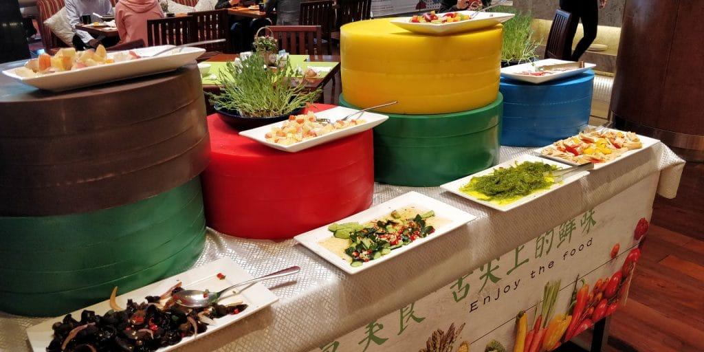HUALUXE Kunming Frühstück 5
