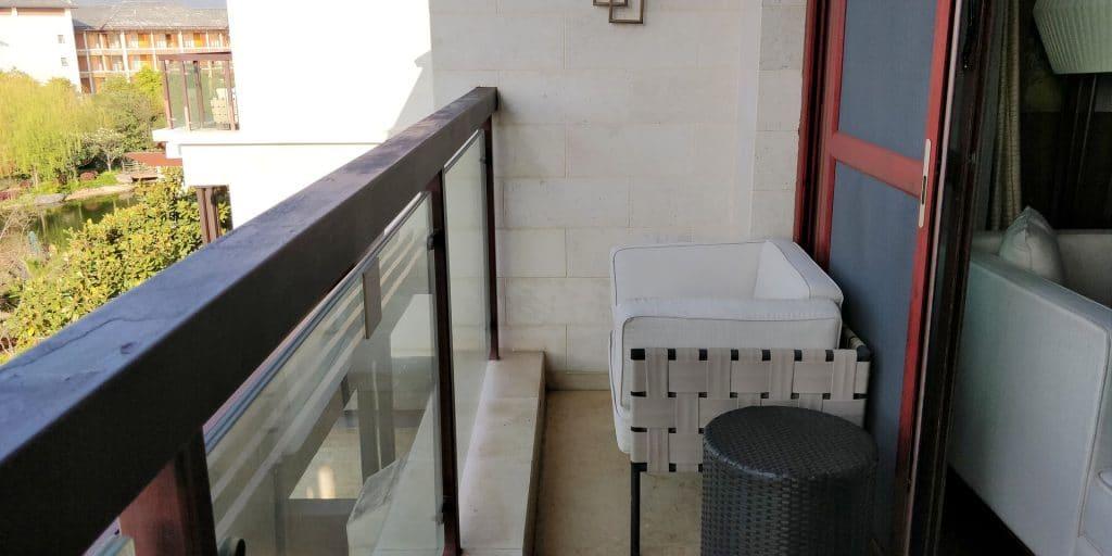 HUALUXE Kunming Suite Balkon