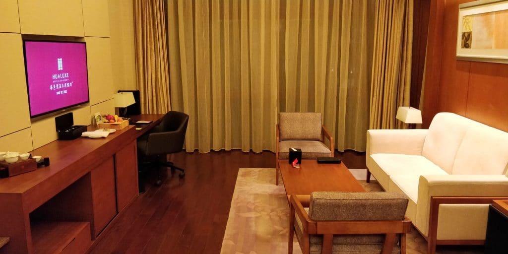 HUALUXE Kunming Suite Wohnzimmer 2