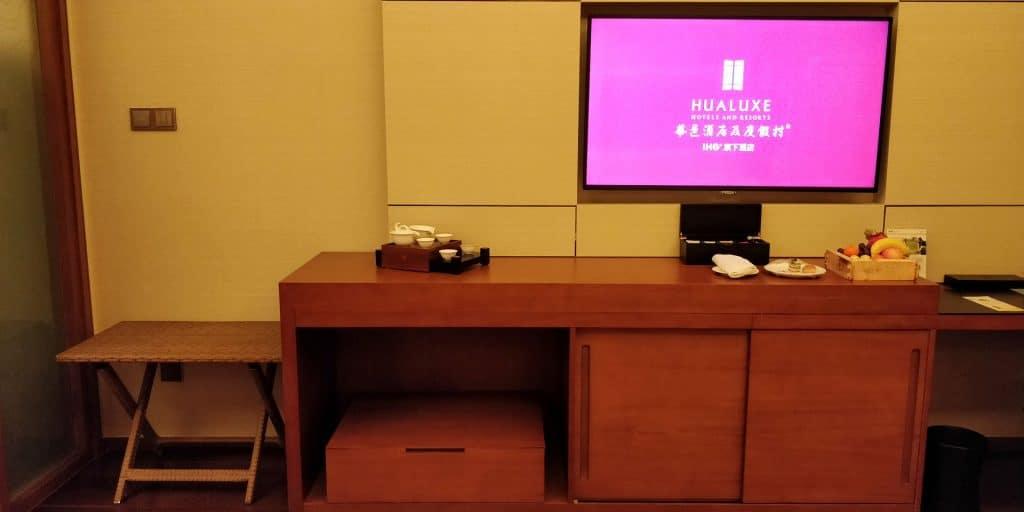 HUALUXE Kunming Suite Wohnzimmer 4
