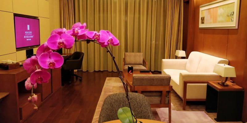 HUALUXE Kunming Suite Wohnzimmer