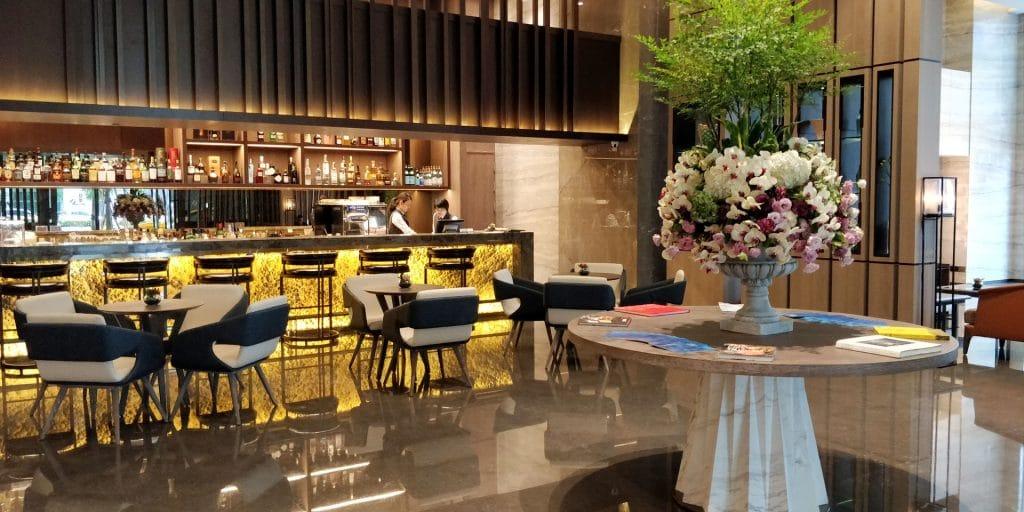 Hilton Taipeh Sinban Lobby