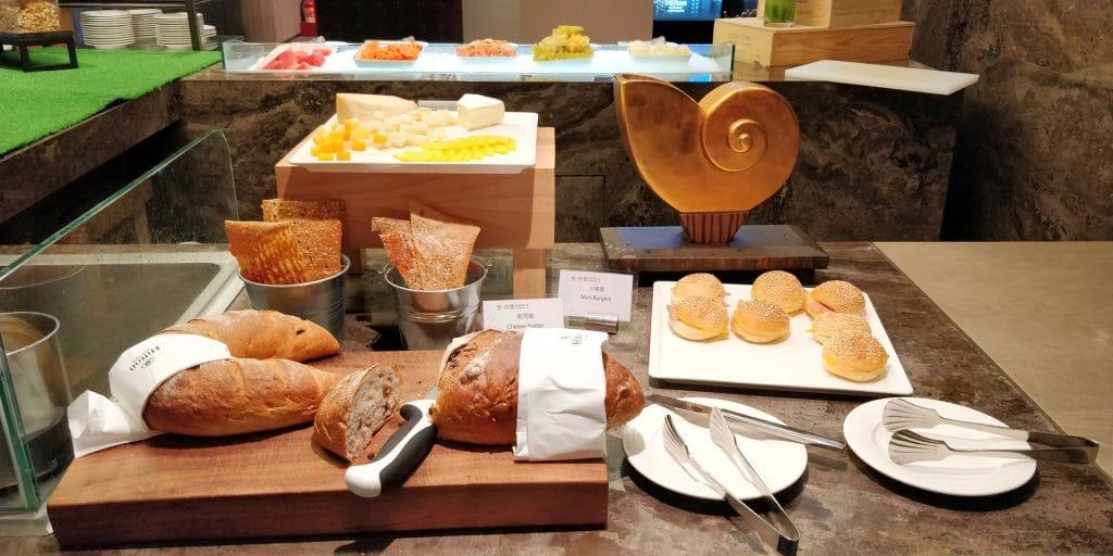 Hilton Taipei Sinban Frühstück 4