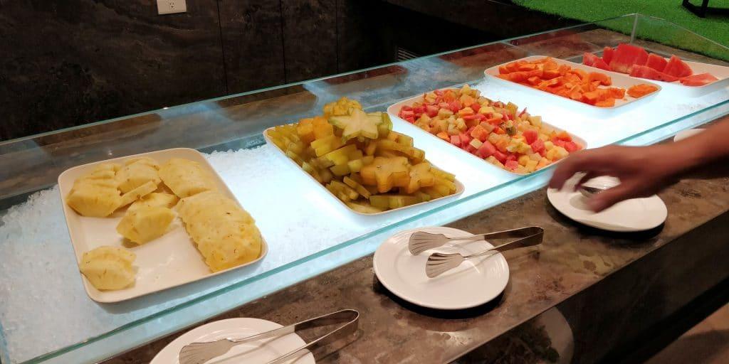 Hilton Taipei Sinban Frühstück 5
