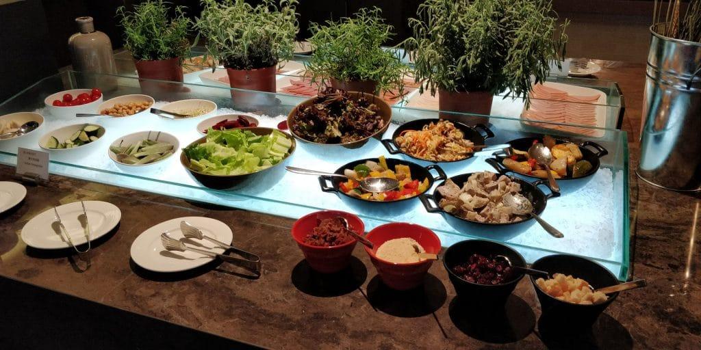 Hilton Taipei Sinban Frühstück 7
