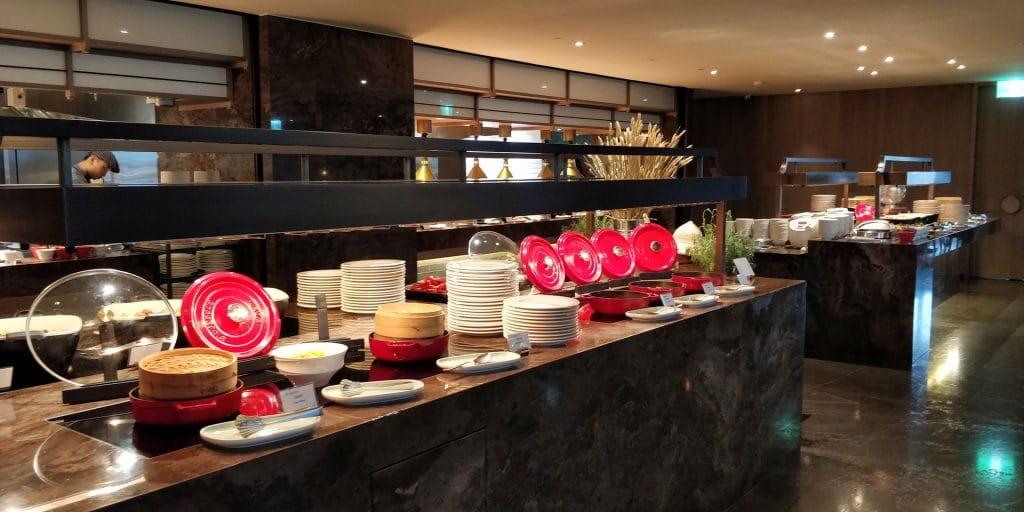 Hilton Taipei Sinban Frühstück 9