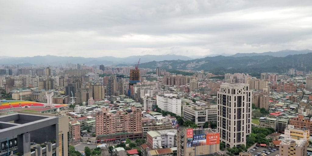 Hilton Taipei Sinban Lounge Ausblick