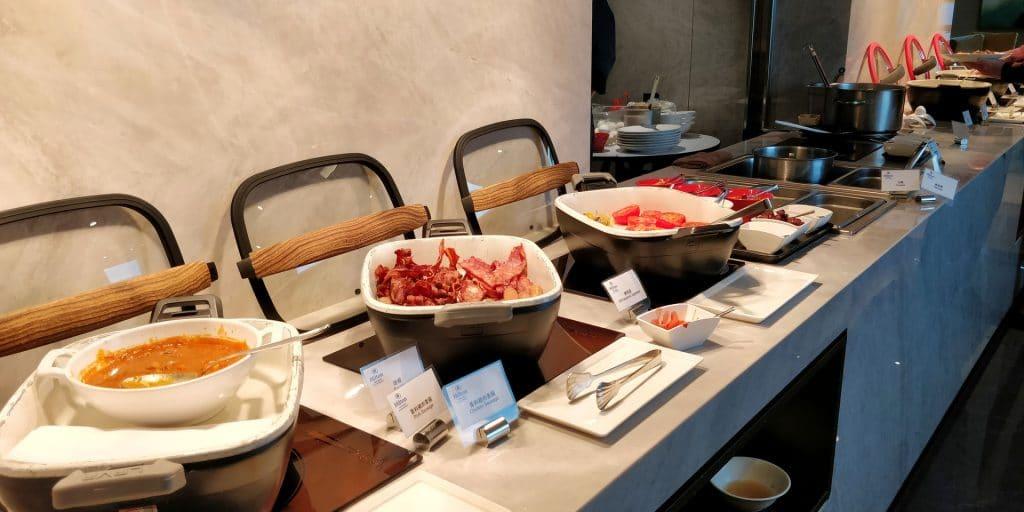 Hilton Taipei Sinban Lounge Frühstück 3