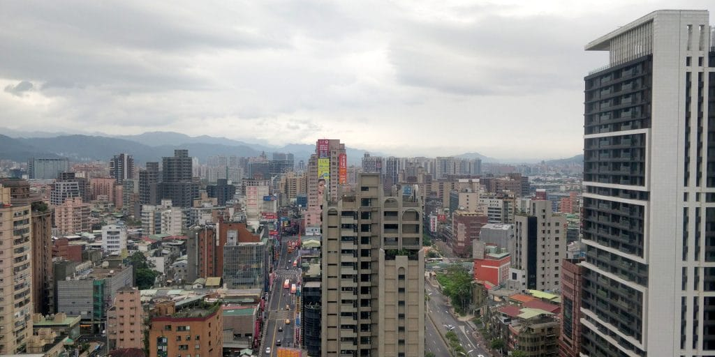 Hilton Taipei Sinban Suite Ausblick