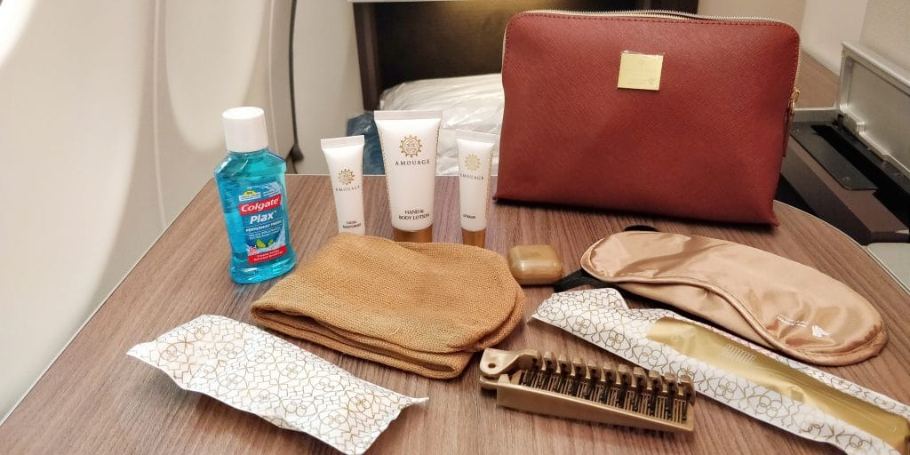 Oman Air Business Class Airbus A330 Amenity Kit 2