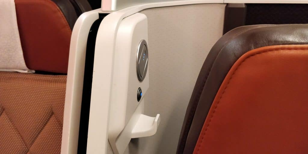 Oman Air Business Class Airbus A330 Leselampe