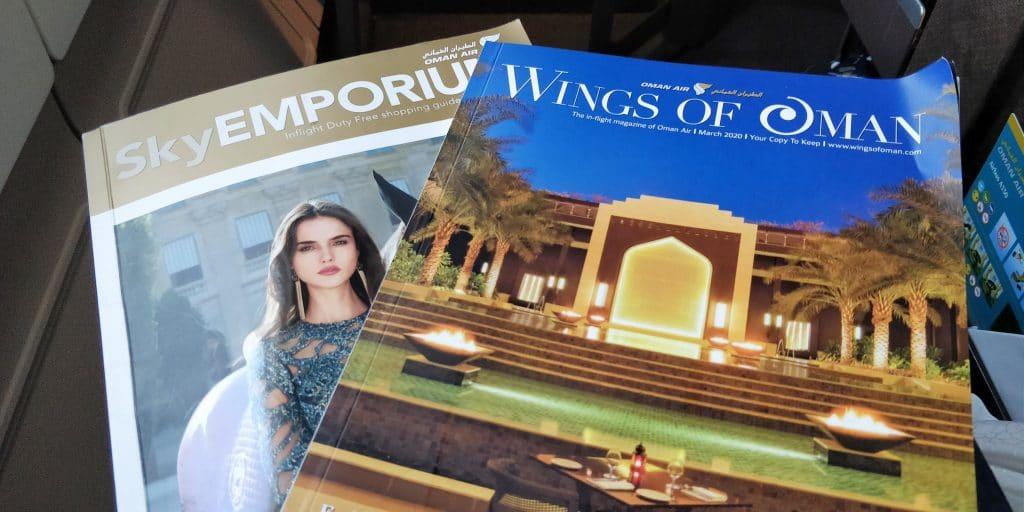 Oman Air Business Class Airbus A330 Magazine 2