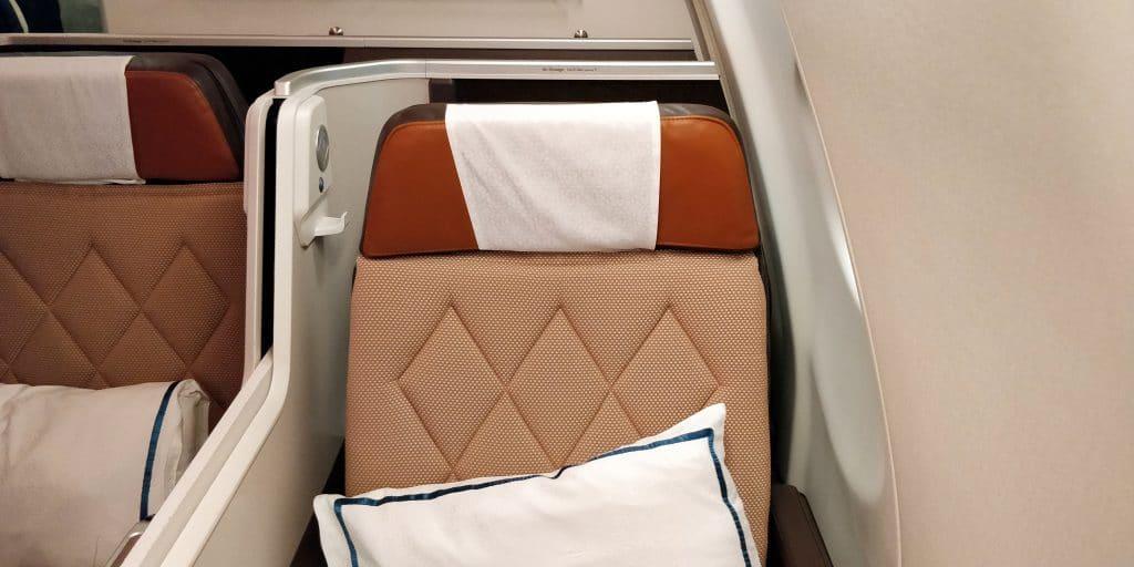 Oman Air Business Class Airbus A330 Sitz 15