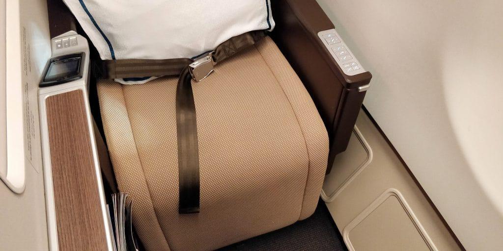 Oman Air Business Class Airbus A330 Sitz 16