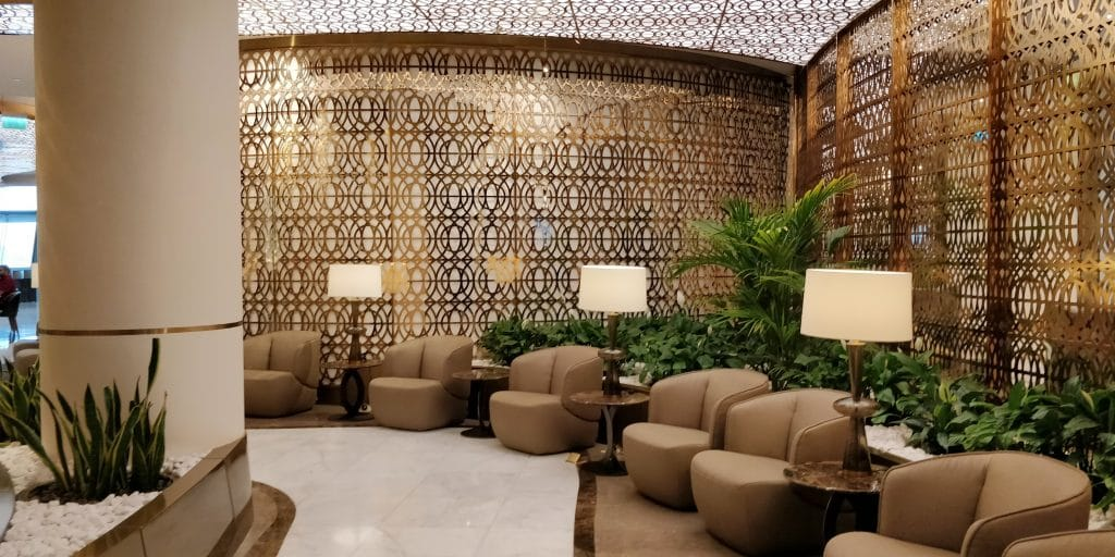 Oman Air Lounge Maskat