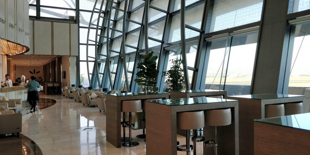 Oman Air Lounge Maskat 3
