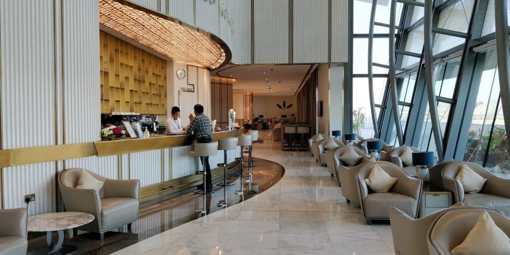 Oman Air Lounge Maskat 4