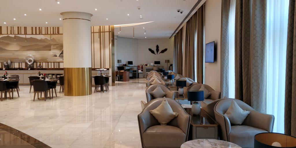 Oman Air Lounge Maskat 5