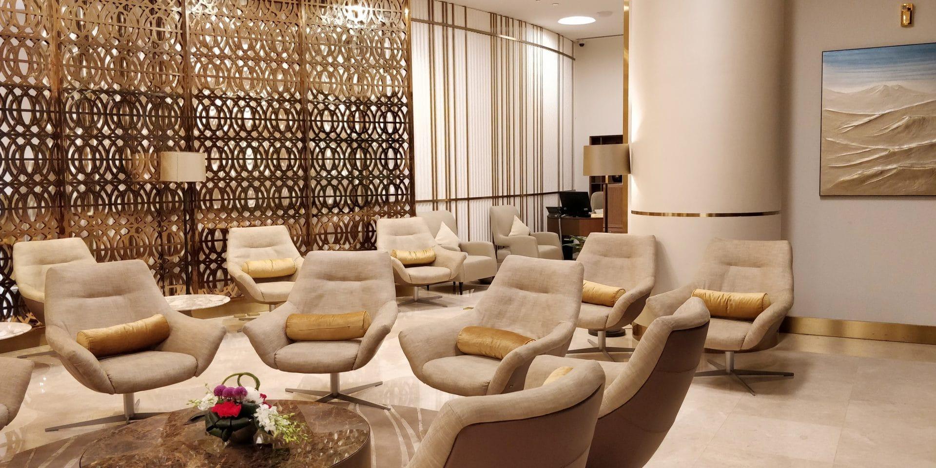 Oman Air Lounge Maskat 8