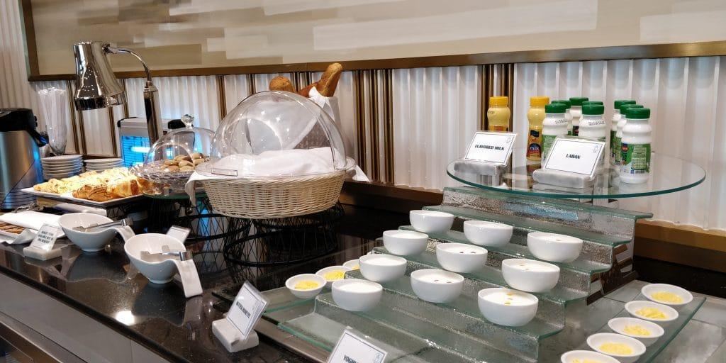 Oman Air Lounge Maskat Buffet 6