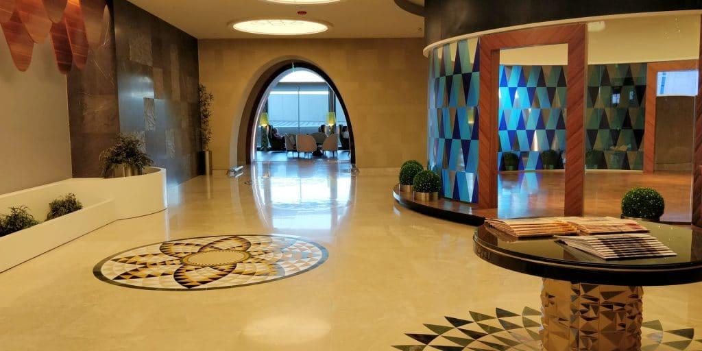 Primeclass Lounge Maskat Eingang
