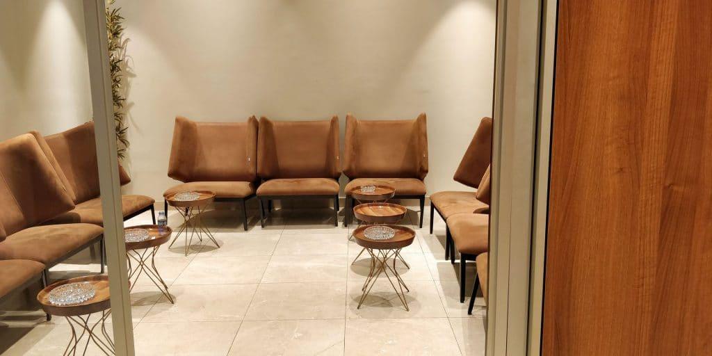 Primeclass Lounge Maskat Raucherraum
