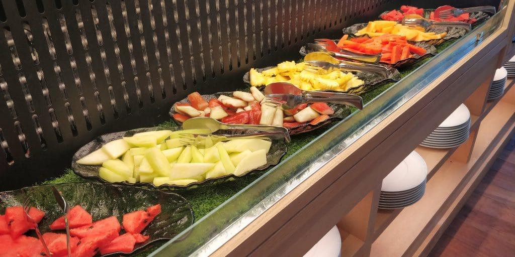 Waldorf Astoria Maldives Ithaafushi Frühstück Buffet 8