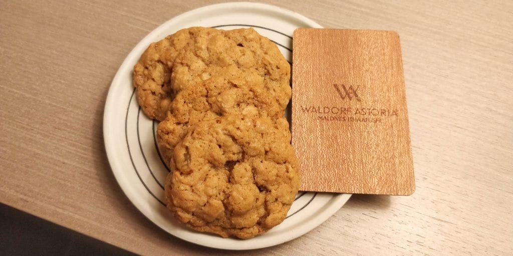 Waldorf Astoria Maldives Ithaafushi Kekse