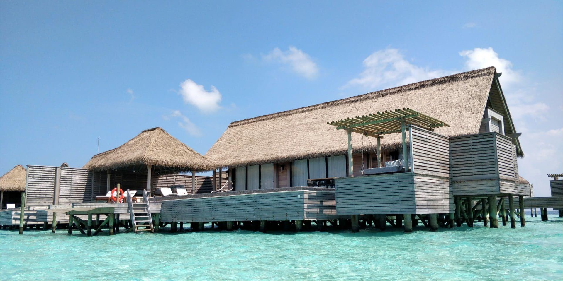 Waldorf Astoria Maldives Ithaafushi Overwater Villa Außenansicht 2