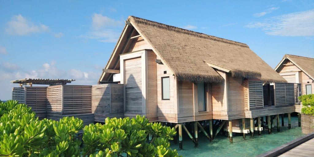 Waldorf Astoria Maldives Ithaafushi Overwater Villa Außenansicht 5