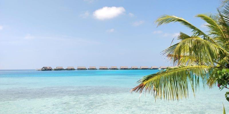 Waldorf Astoria Maldives Ithaafushi Schaukel Ausblick