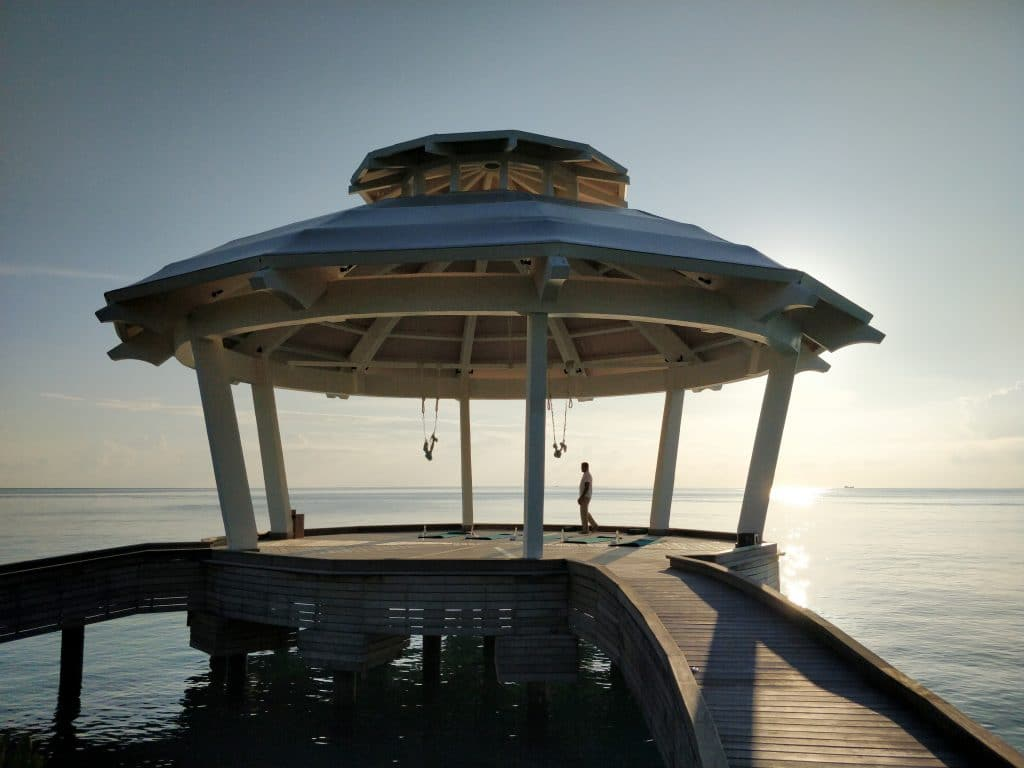 Yoga Pavillon Waldorf Astoria Maldives