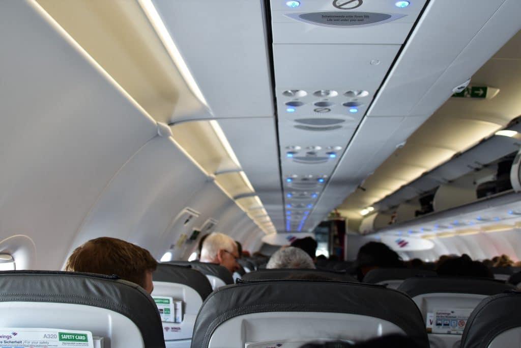 Flugzeug Kabine Belüftung