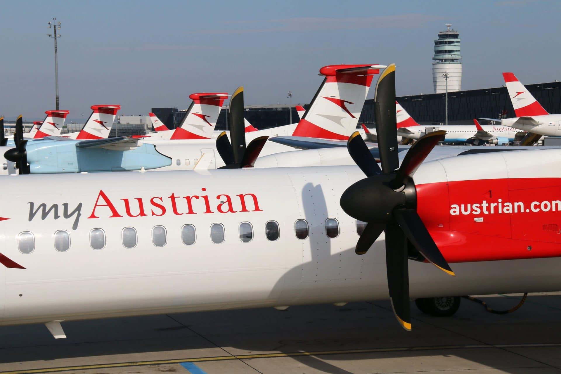 Austrian Airlines Dash 8