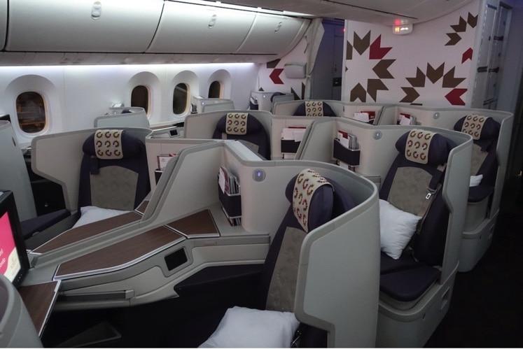Royal Air Maroc Business Class Boeing 787-9