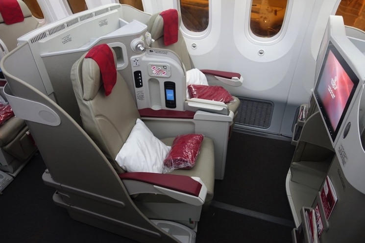 Royal Air Maroc Business Class Boeing 787-8
