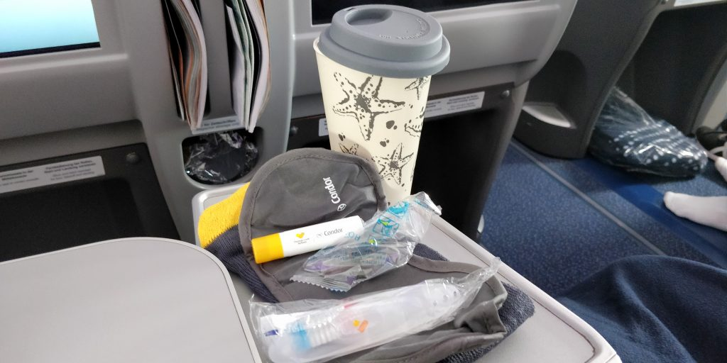 Condor Business Class Amenity Kit