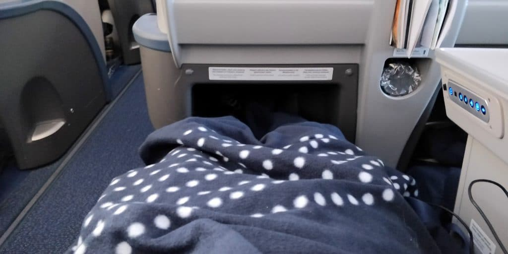 Condor Business Class Sitzabstand