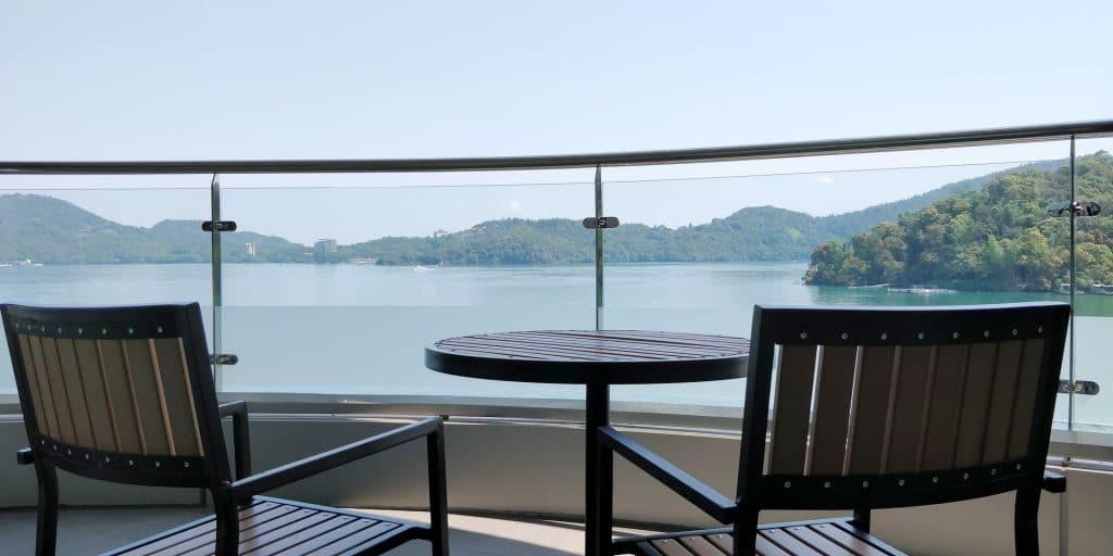 Crystal Resort Sun Moon Lake Suite Balkon 2