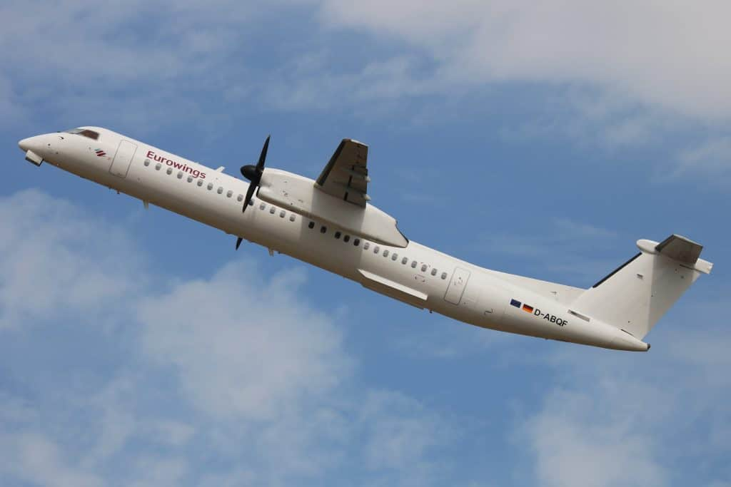 Eurowings LGW Bombardier Dash-8 Q400