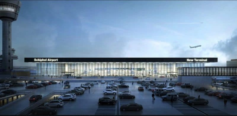 Amsterdam Schiphol New Terminal